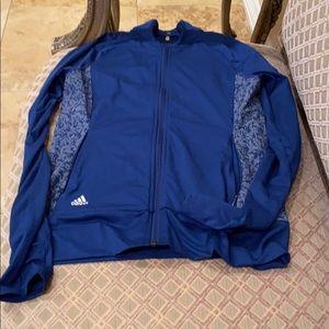 Adidas zip up jacket size XS
